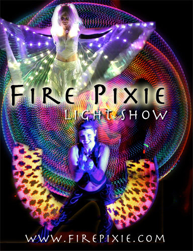 Fire Pixie Light shows